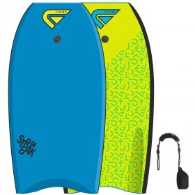 FLOOD Bodyboard Streak 41 Blue Yellow Memphis