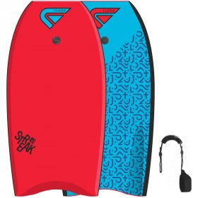 FLOOD Bodyboard Streak 42Red Blue Memphis