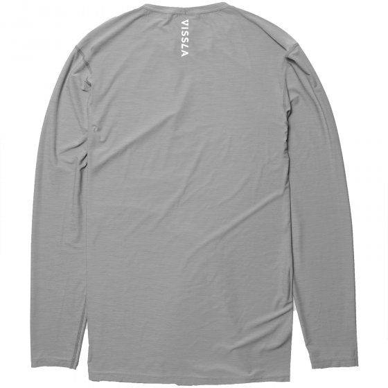 VISSLA twisted lycra long sleeve grau Größe S