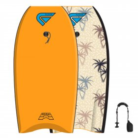 FLOOD Bodyboard Dynamx Stringer 42 Orange Palm
