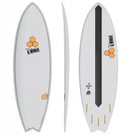 Surfboard CHANNEL ISLANDS X-lite Pod Mod 5.6 grau Al Merrick Surfbrett Wellenreiter