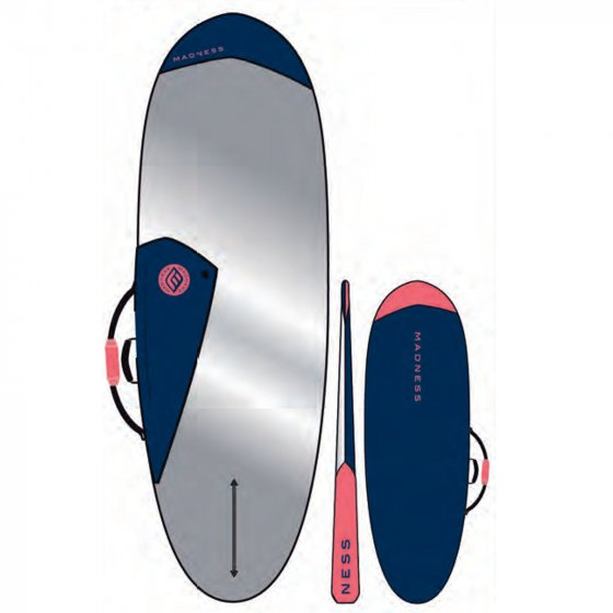 MADNESS Boardbag PE 6.0 Hybrid Blue Red