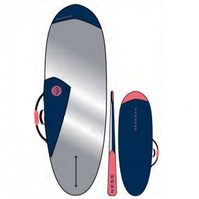 MADNESS Boardbag PE 6.4 Hybrid Blue Red