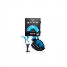 ROAM Bodyboard Biceps Leash 4.0 Small 7mm Blau
