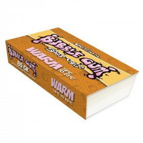 Surf Wax BUBBLE GUM Orange Warm 18-23°C
