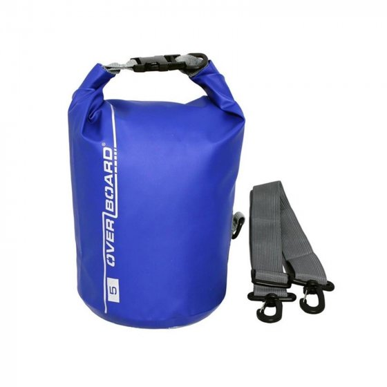 Overboard Dry Tube Bag 5 Liter blue